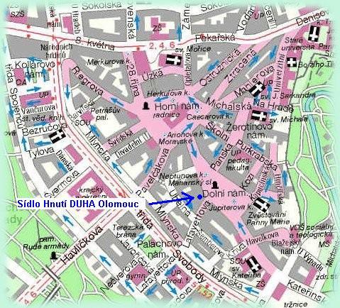 Mapka kde nás najdete